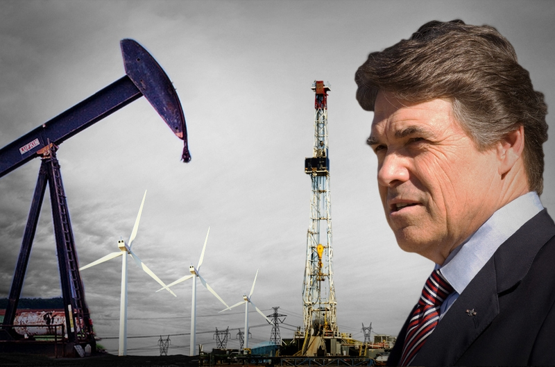 Rick Perry's plan to kill funding for wind and solar power